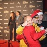 www.carsandstars.nl Ali G lookalike dubbelganger on the red carpet rode loper fotoshooting