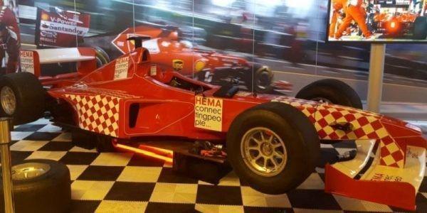 racing sim racestoel simulator f1