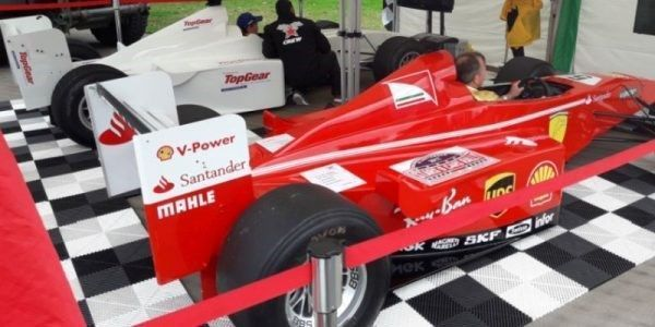 simulators simulatoren formule 1 rood wit