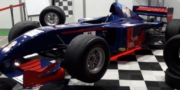 racesimulator max blauw f1