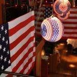 USA Themafeest decoratie