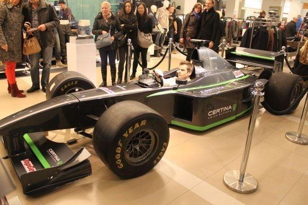 fullsize racesimulator formule 1