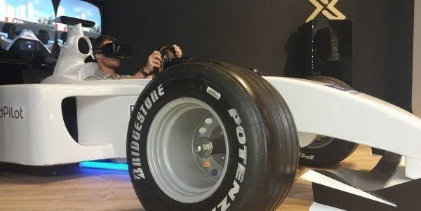 f1 vr racing sim