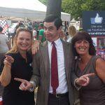 Mr Bean dubbelganger