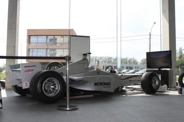 formule 1 sim simulator