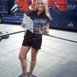 Heidi Klum lookalike