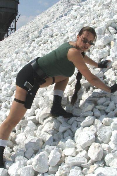 Lara Croft Lookalike