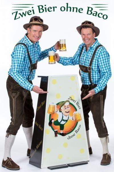 zwei bier ohne baco