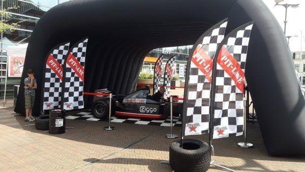 f1 logo branding bedrijf race simulator