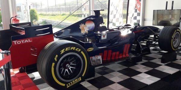 f1 race simulator zandvoort