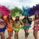 carsandstars zomerfeesten beachparty caribean party sambagirls