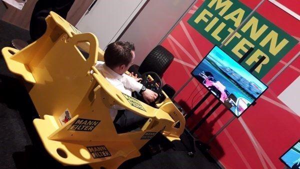 cockpit race simulator