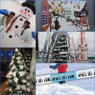 carsandstars dekoratieverhuur winter apresski feest