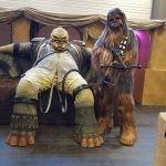 Chewbacca lookalike imitator dubbelganger