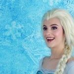 prinses frozen dubbelganger elsa lookalike