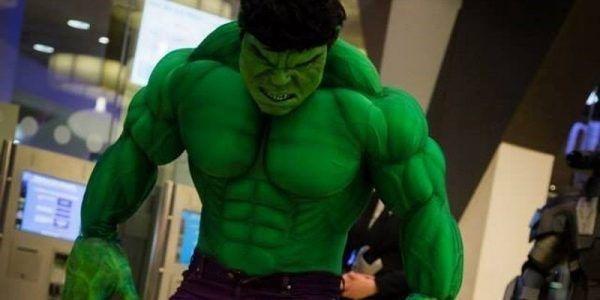 Hulk imitator hollywood