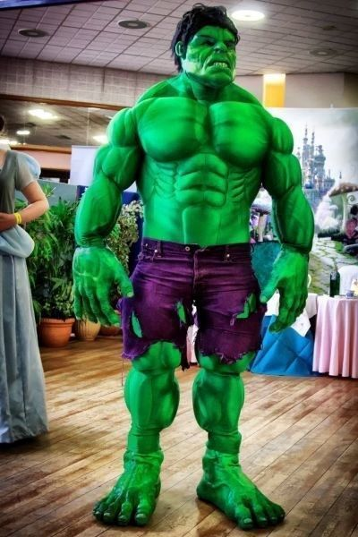 The Hulk lookalike dubbelganger