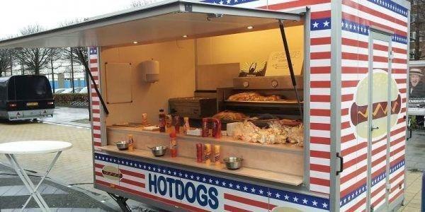 Original USA Hotdogs hotdogkar boeken