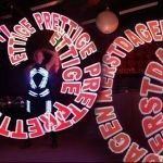 Visual LED Poi Show