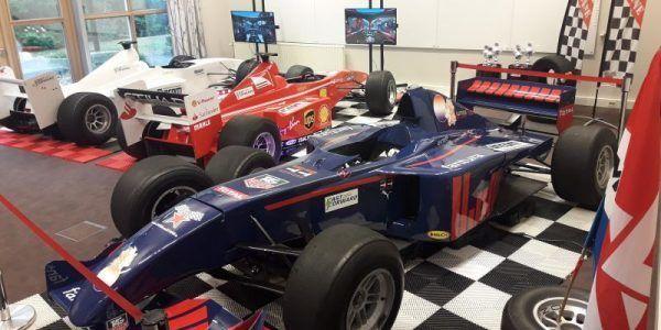 F1 Simulatie Fancom bandenwisselspel kappelerput racing sim