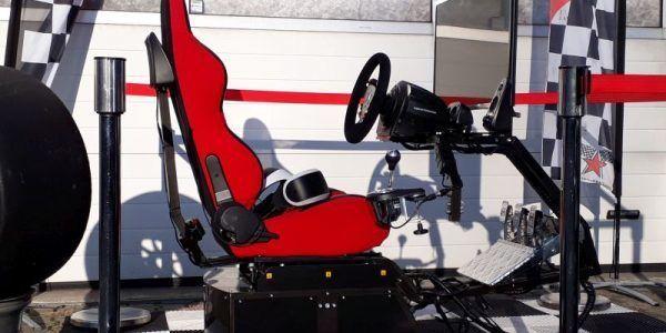 full motion race simulator fullmotion virtual reality racing sim