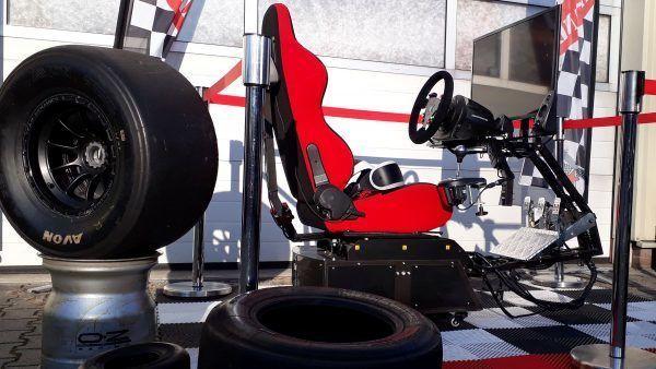 full motion race simulator