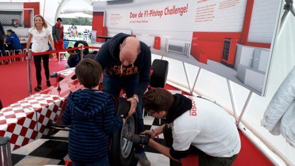 F1 Pitstopgame Shell Malieveld den haag