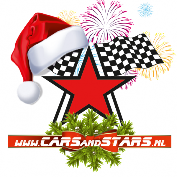 kerstlogo cars and stars